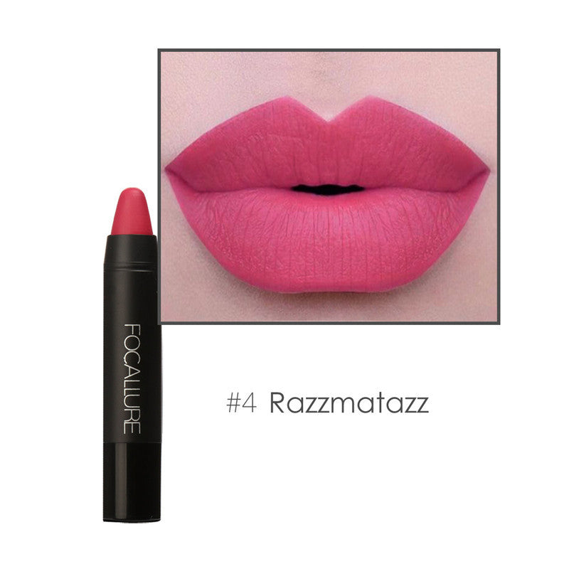 12 Colors Lip Stick Moisturizer Lipsticks Waterproof Long-lasting Easy to Wear Cosmetic Nude Makeup Lips