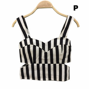 Floral Crop Top Women Camisole Dill Tank Top Female Cropped Feminino Tops Women's Black Cami Short Tops Vest Cropped Mothers