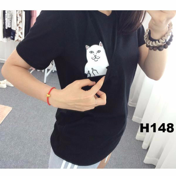 Black Is My Happy Color Letter Women Unisex Black O Neck T Shirts Printing Fashion Tee Black Tops Lady T-shirt 4 Plus size