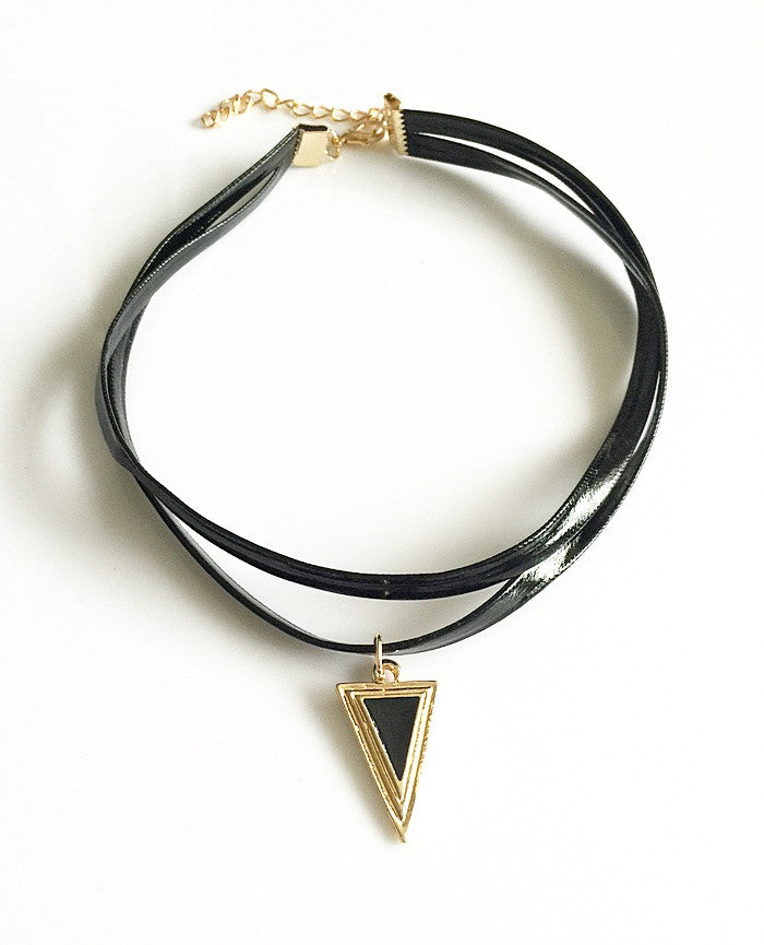 Gothic Jewelry Black Necklace & Pendant False Collar Handmade Women Accessories Choker Pendant Necklaces for women Gift