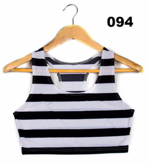 Fashion Women Crop Top Sexy Tank Top Summer Vest  women clothing punk S M L XL plus size