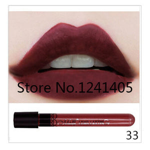 1pc High Quality Moisture Matte Color Waterproof Lipstick Long Lasting Nude lip stick lip gloss color vitality cerise star #MN36