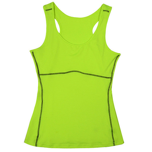 Plus Size S-XXL Compression Under Base Wear Womens Sleeveless Tank Tops Ladies Casual Shirts Skins Cami Vest