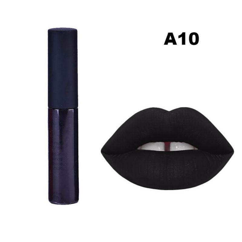 12 Colors Makeup Waterproof Matte Velvet Liquid Lipstick Long Lasting Lip Gloss Cosmetics