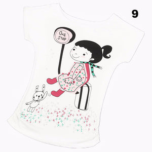 Top Selling Womens Clothes Fashion Vintage Spring Summer Short Sleeve Animal Printed Girls Cotton Female Women T-shirt