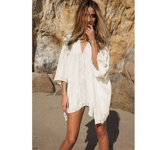Saida De Praia Fashion Swimsuit Bikini Beach Cover Up Women Beach Wear, Bathing Suit Cover Ups,Swimwear Cover Up Women Coverups