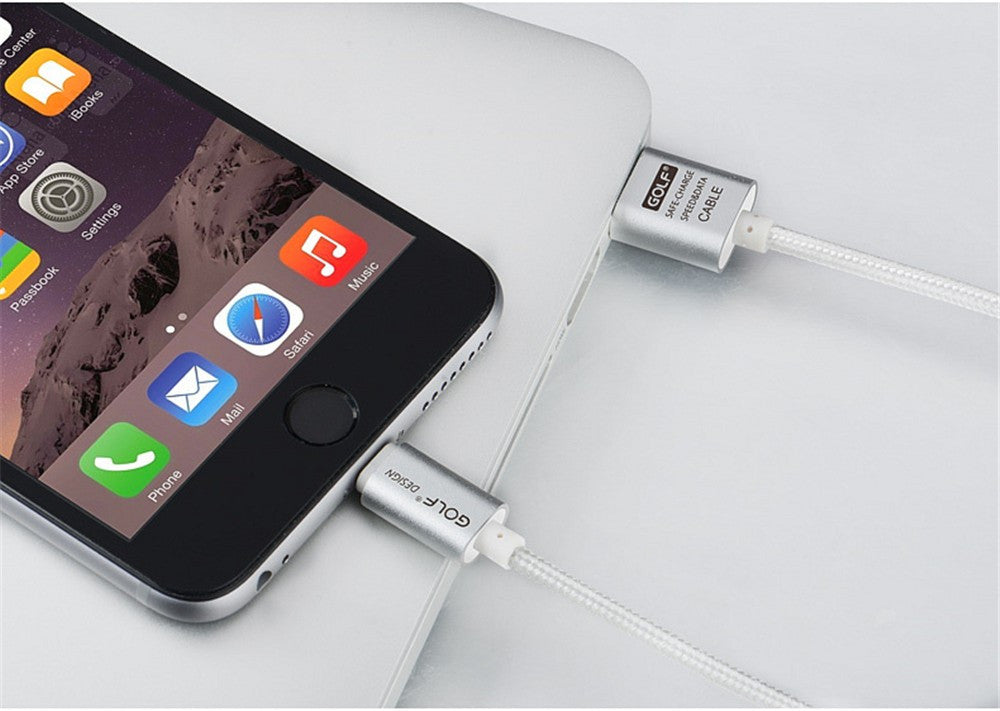 100% Original GOLF 25cm 1m 1.5m 2m 3m 8 Pin USB Data Sync Charge Cable For iPhone 6 6S 7 Plus 5 5S SE iPad 4 Air 2 Charging Wire