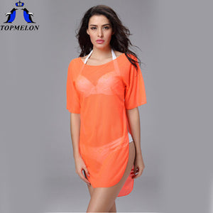 Beach Cover Up Saida De Praia  Women's vestido praia beach tunic pareo Beach Cover Up cangas de praia Bathing Suit Cover Ups