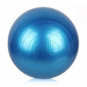 2016 New Yoga Balls Health Yoga Fitness Ball 55cm Anti-Burst Pilates Balance Sport Fitball Thickened Explosion Proof Balls