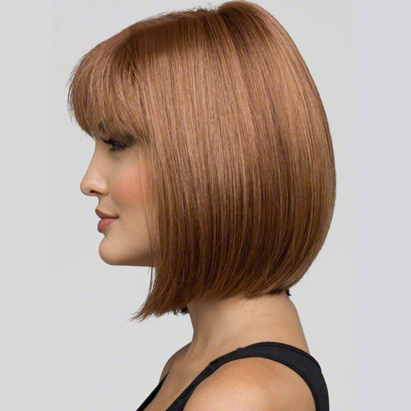 Heat Resistant Synthetic Bobo Blonde Short Straight Hair Wigs for Women Wigs free shipping