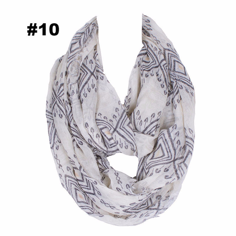 Hot Fashion Loop Shawl Vintage Cashew Print Ring Scarves Women Winter Infinity Scarf Echarpe Foulard Femme 180*80cm
