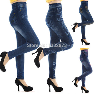 New Design invention from New York & Paris Sexy Women Jeans Skinny Jeggings Seamless Stretchy Slim Leggings free shipping