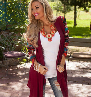Long Sleeve Women Cardigan Female Asymmetrical Knitted Sweater Casual Cardigans Sweaters Air conditioning Shirts