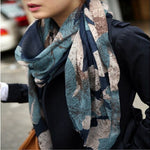 1PC 100*180cm New Fashion  Hot sale big Flower Peddles Printed ,winter scarf,women scarf - Gifts Leads