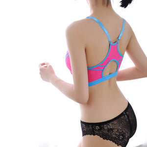 Women Bra Sports Bra for Running Gym Fitness Athletic Bras Padded Push Up Tank Tops for Girls ropa deportiva One Size