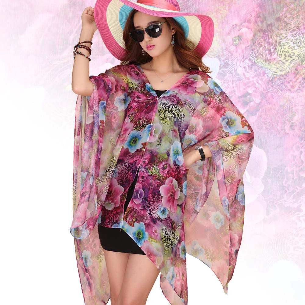 Wearable Silk Scarf Women Soft Thin Hijab Chiffon Bandanas Oversize Sunscreen Shawls And Scarves Lace Foulard Femme Bufandas