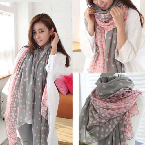 New Fashion Lady Women's Long Candy colors Scarf Wraps Shawl Stole Soft Scarves