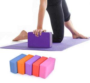 8 Colors High Quilaty EVA Yoga Block Brick Foaming Foam Home Exercise Fitness Health Gym Practice Tool 23*15*7.5