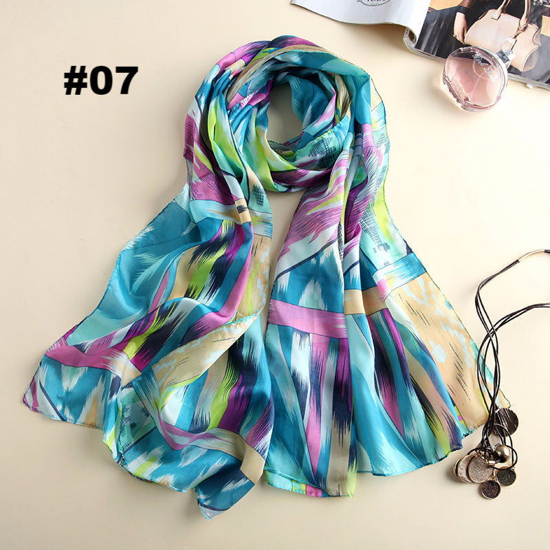 Hijab from India scarf luxury brand chinese women scarves soft chiffon blanket pashmina shawls scarves for women foulard femme