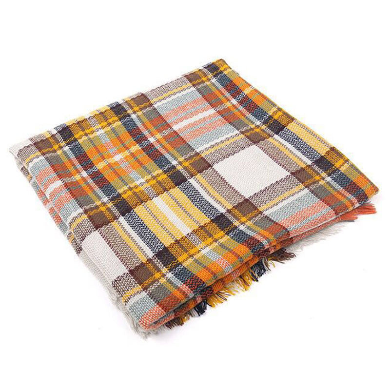 Scarf Plaid Women bufandas mujer 2016 black fashion warm scarves for women winter scarf wrap shawl Blanket Scarf Luxury Brand