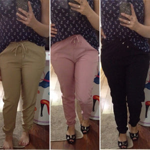New Girls Summer Soft Fashion Chiffon Sport Harem Pants Trousers leggings Loose Elastic Casual Solid Hot