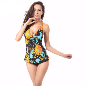 TOP qualityl  Women Bodysuit Sexy High Cut Two  Piece Swimsuit Backless Swimwear Women Monokini Bathing Suit Beachwear