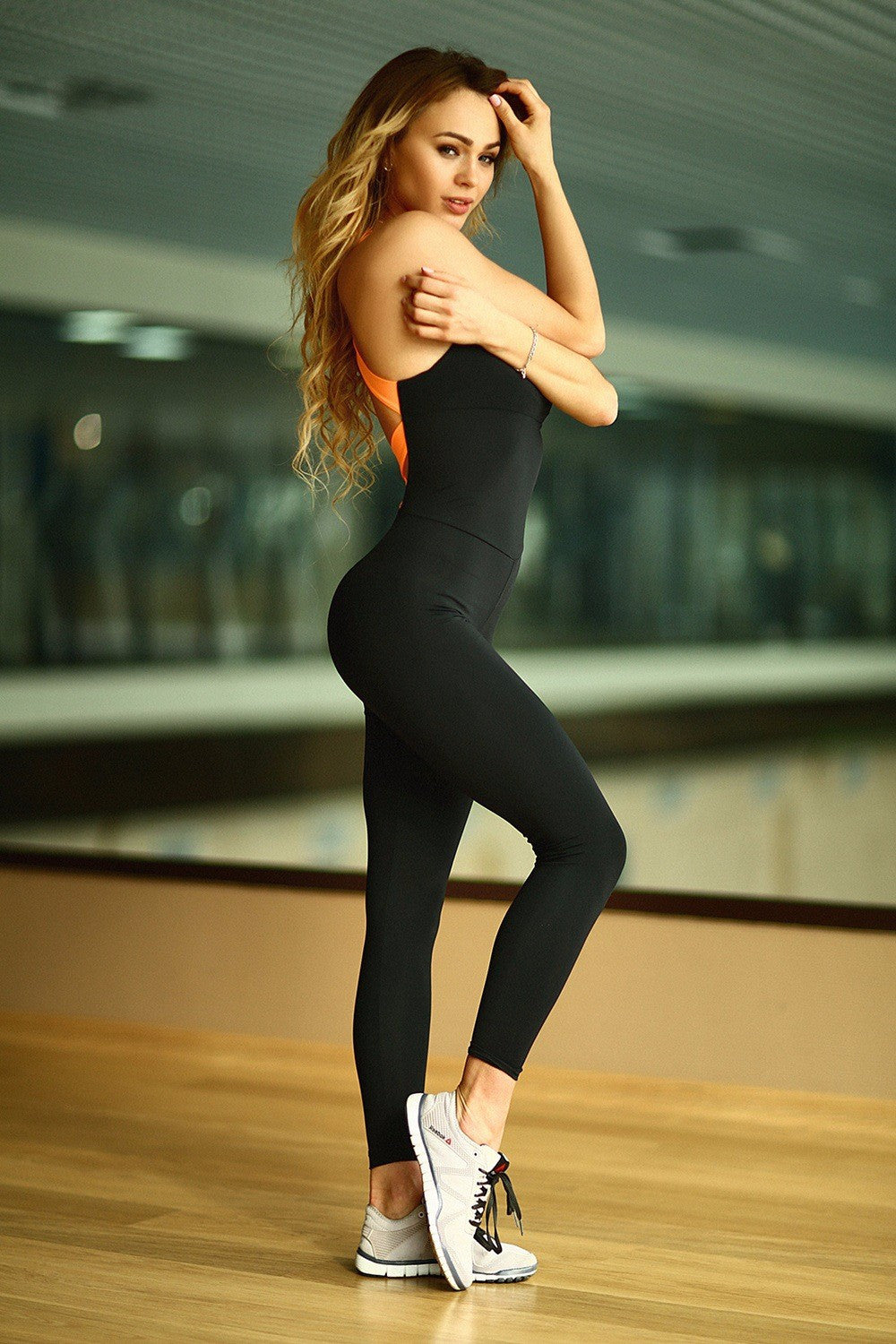 S-XL Elasticity Running Fitness Jumpsuit & Rompers Sport Skinny Bodysuit Bandage Slim Playsuit Women Plus Size Macacao