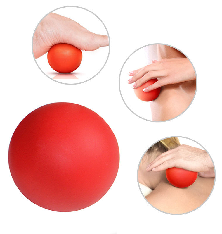 5B Rubber Crossfit Massage Ball Pain stress relief Trigger Point Therapy for Muscle Knot Fitness Yoga Lacrosse Balls Hockey Ball