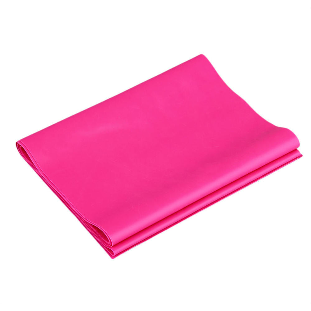 1.2m Elastic Yoga Pilates Rubber Stretch Exercise Band Arm Back Leg Fitness thickness 0.35mm same resistance Free Shipping - Gifts Leads