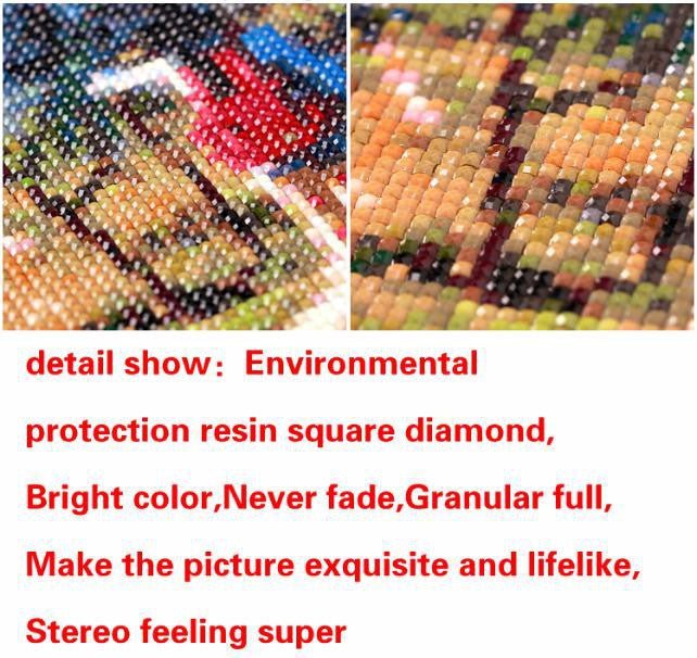 Diamond Embroidery Painting 3D Full Drill Diamond Mosaic Cross Stitch Pasted Painting DIY Home Decora Craft animal