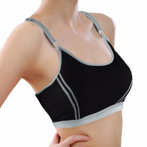 0fc893a529 Women Bra Sports Bra for Running Gym Fitness Athletic Bras Padded Push Up  Tank Tops for