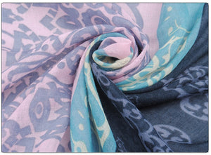 Pashmina Scarf Women 2016 New arrive Spain Voile Velvet Chiffon Scarf  Winter echarpes Scarves Silk Shawls and Scarves