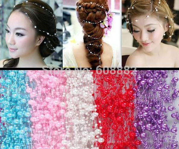 4 PCs New Romantic Pearl Crystal Bridal Headdress Wedding Hair Accessories Bridal Hair Jewelry Top Quality