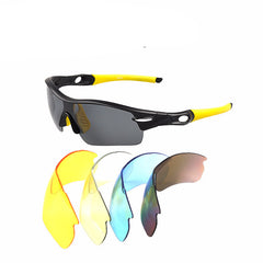 Unisex Detachable Professional Cycling Sunglasses Set Men's Outdoor Polarized Bicycle Glasses Sports Eyewear