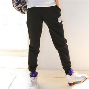 2016 Women Pure Cotton Pants Womens Sports Casual Pant Loose Thin Trousers Ankle Length Couple Pencil Pantalones Nameplate