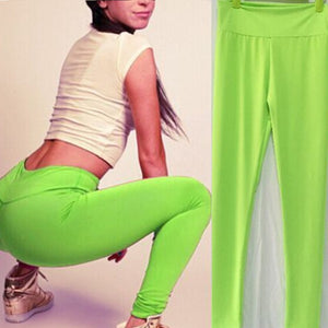 Women Casual Running Pants High Waist Trousers Leggings Fitness Gym Clothes Pantalones Mujer