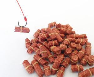 100 pcs FREE SHIPPING Red carp,smell lure Red Grass Carp Baits Fishing Baits Fishing Lures