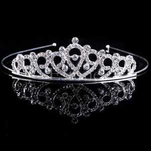 New Girl Hair Band Headband Bridal Princess Stunning Crystal Tiara Wedding Crown