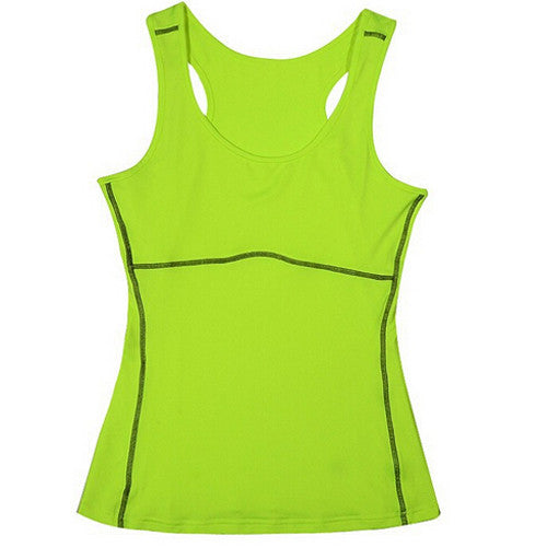Womens Yoga Sleeveles T-shirt Sports Fitness Base Layer Training Gym Sportswear Running Tops Shirts 2016 New Plus Size S-XXL