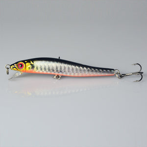 5 Pcs Minnow Fishing Lures 8CM 5.7G 8# Hooks Fish Minnow Lure Tackle Hard Bait Pesca Wobbler Artificial Swim bait