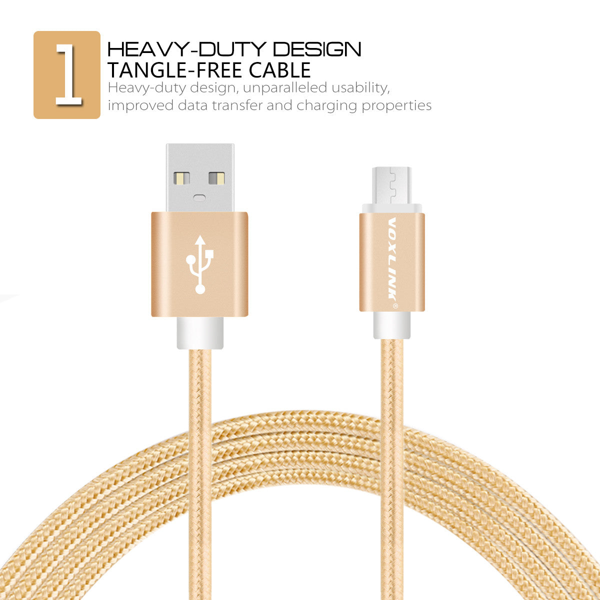 1m/2m/3m Nylon Braided Micro USB Cable Charging Sync Data USB Cable For iphone 7 6 6s Plus 5s ipad mini Samsung HTC LG