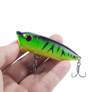 Promotion! Lot 5pcs Colors Fishing Lures Crankbait Minnow Hooks Crank Baits 65mm 13g poper lure topwater Free Shipping