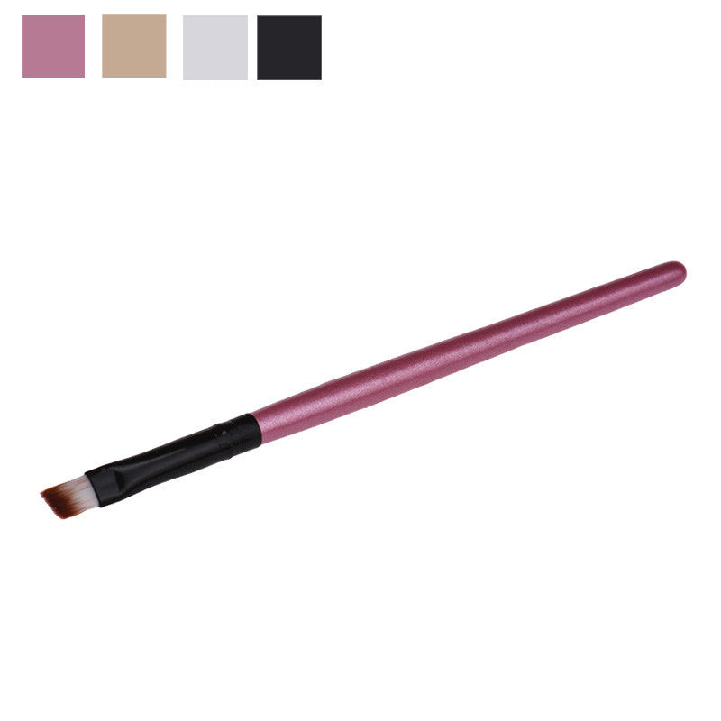 Hot hothot New fashion design Eyebrow Cosmetic Makeup Brush Wooden Handle + Artificial Fiber