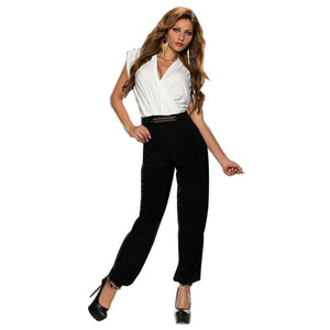 Deep V-neck sexy playsuits long pant fashion new recommend rompers womens jumpsuit good quality jump suits for women
