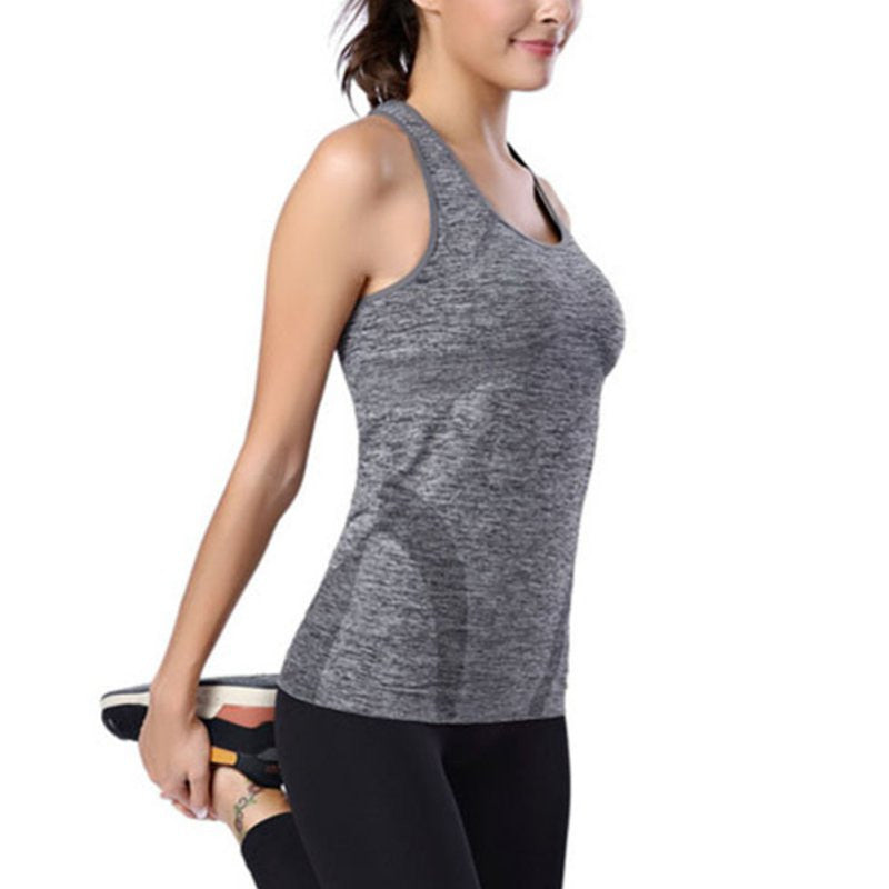 Women's Tank Tops Quick Dry Breathable Sleeveless Clothes Fitness
