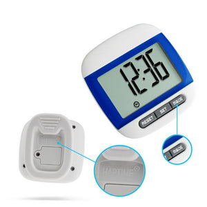 Waterproof Step Movement Calories Counter Multi-Function Digital Pedometer