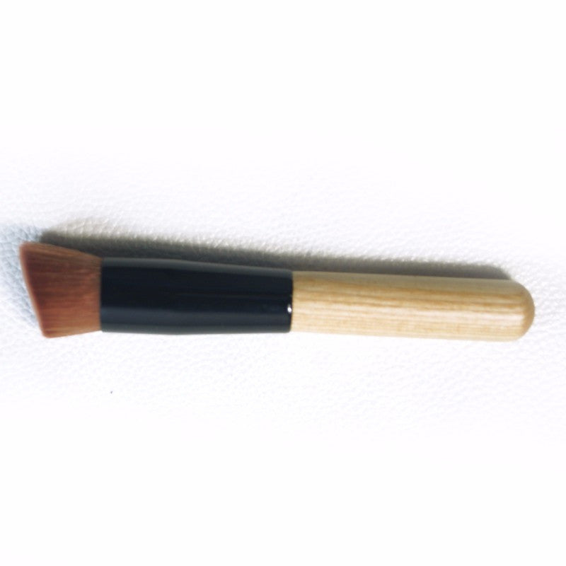 1pcs High Quality Powder brush Wooden Handle Multi-Function Makeup Brushes Foundation Women face Make up Tools set Comestics