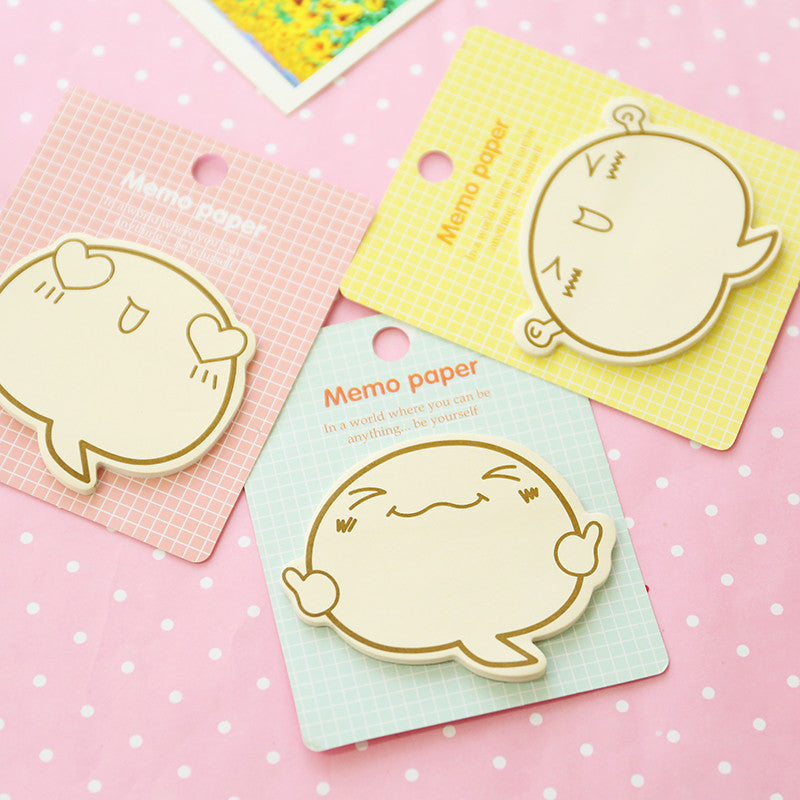 6 Piece Kawaii Totoro Planner Stickers Sticky Notes Cute Korean Stationery Office Supplies Scrapbooking Post It Memo Pad Sticky Markers
