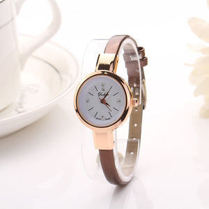 2016 Luxury Brand Watch Women Fashion Gold Watch