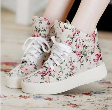 Women Shoes Fashion Canvas shoes women platform